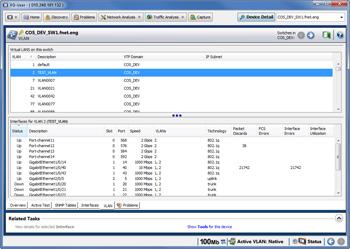 Обнаружение конфигураций виртуальных локальных сетей