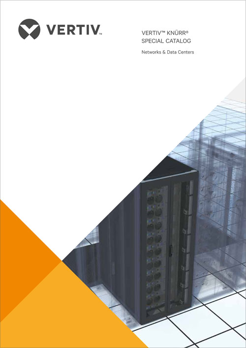 Обложка каталога Каталог VERTIV™ KNÜRR® Special Catalog. Networks & Data Centers